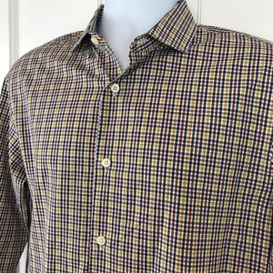 Banana Republic Slim Grant Fit Cotton Poplin Shirt
